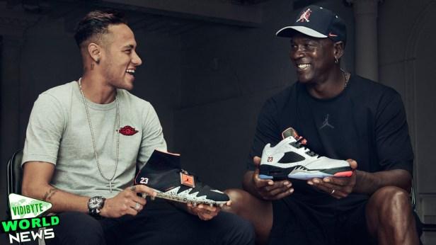 neymar and jordan